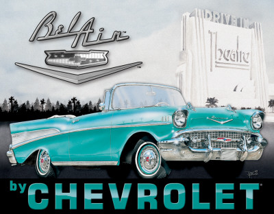 Buy Chevy - '57 Bel Air at AllPosters.com