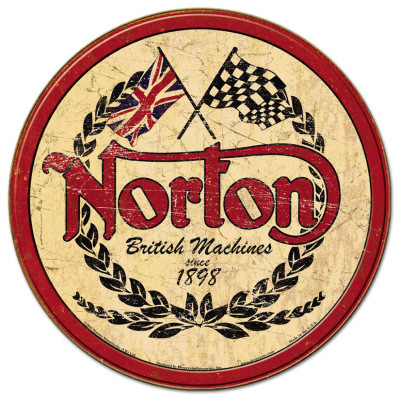 Norton - Logo Round Posters