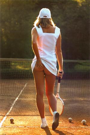 Tennis Girl Sports Poster