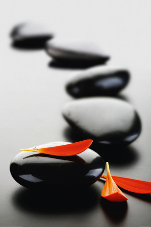 Zen Stones-Red