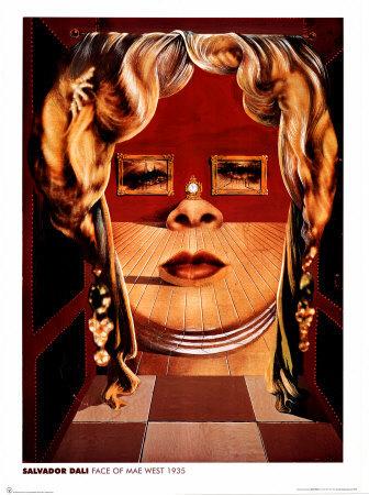 Gesicht von Mae West, 1935