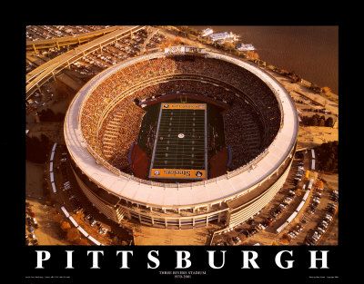 Three Rivers Stadium - Pittsburgh, Pennsylvania