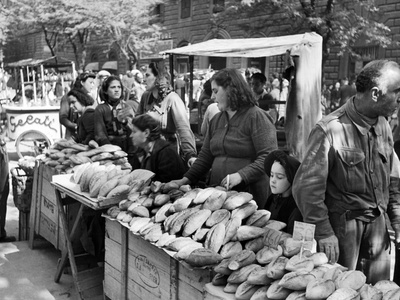 Illegal White Bread for Sale in Black Market