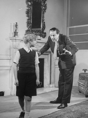 Director Carol Reed with Child ...