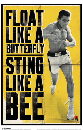Ali - Float Like A Butterfly