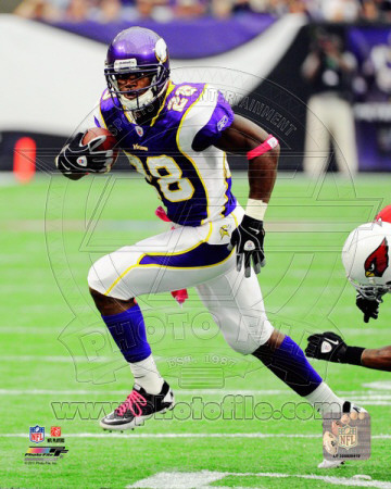 Adrian Peterson 2011 Action