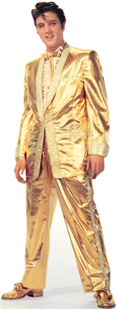 Elvis Presley-Gold Lame Suit