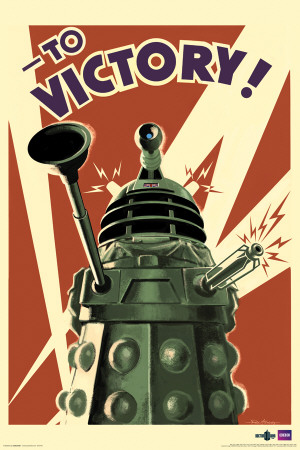 Doctor Who - Dalek to Victory Posters