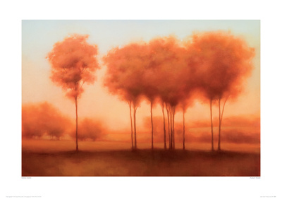 Auburn Shade Giclee Print