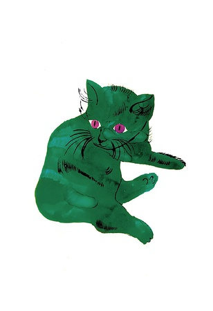 Green Cat, c.1956 Art Print