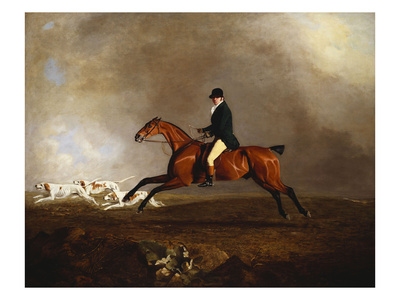 Thomas Mellish on His Hunter