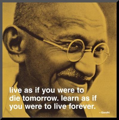 Gandhi: Leben und Lernen