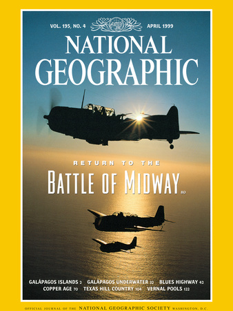 Cover of the April, 1999 Issue of National Geographic Magazine