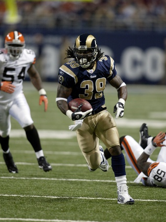 Brown Rams Football: St. Louis, MISSOURI - Steven Jackson