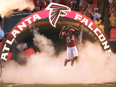 Atlanta Falcons Football: Pittsburgh, PA - Roddy White
