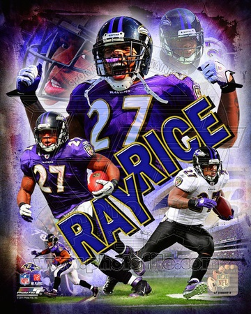 Ray Rice 2011 Portrait Plus