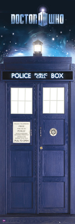 Doctor Who-Tardis Television Door Poster