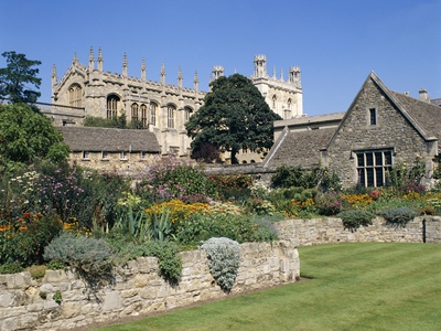 Garden at Christ Church College,Steven  Vidler