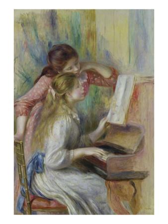 Deux Filles Au Piano..