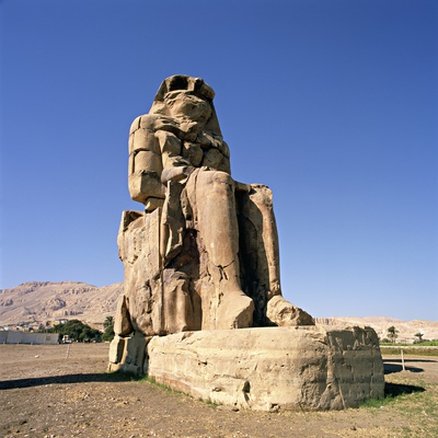 Colossus of Memnon at Luxor