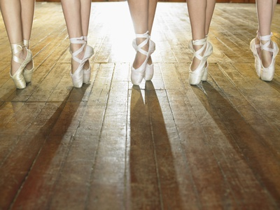 Feet of Ballerinas
