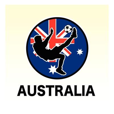 Buy Australia Soccer at AllPosters.com