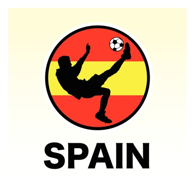 Buy Spain Soccer at AllPosters.com