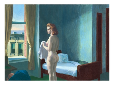 hopper painting nude