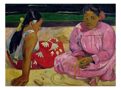 Tahitianische Frau