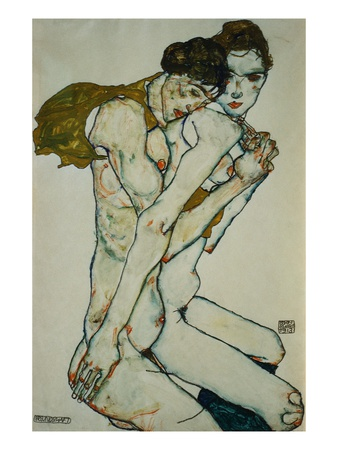 Egon Schiele, friendship