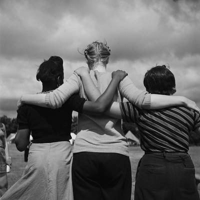 Three Friends at Camp Wo-Chi-Ca
