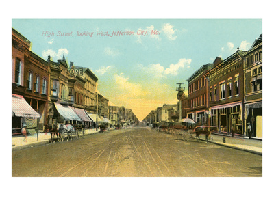 High Street, Jefferson City, Missouri