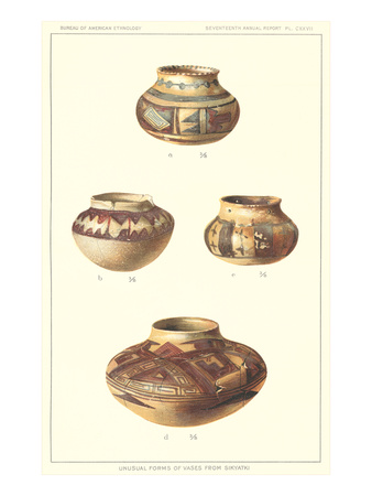 Hopi Pots from Sikyatki