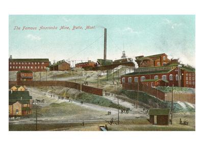 Anaconda Copper Mine.