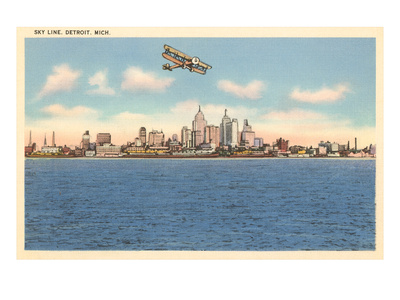 Skyline, Detroit, Michigan