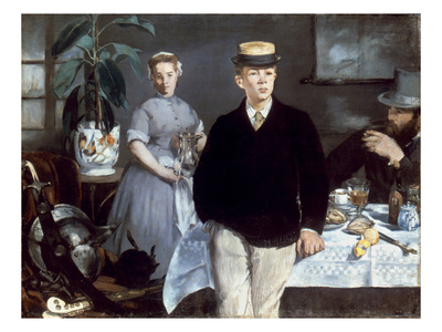 Manet: Luncheon, 1868