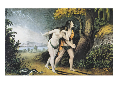Adam And Eve, Nathaniel Currier