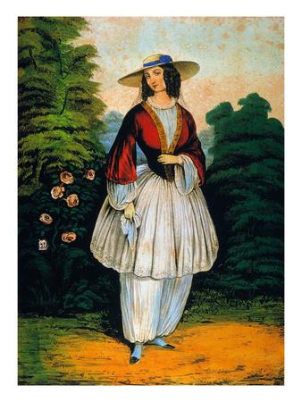 Amelia Bloomer.