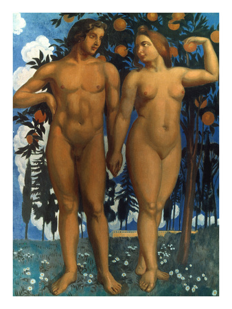 Adam and EVe, Maurice Denis
