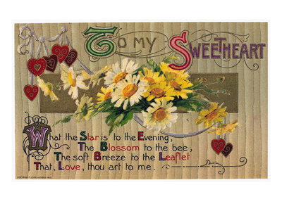 Valentine's Day Card, 1910