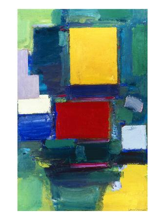 Hans Hofmann: The Door abstract expressionism artwork by Hans Hoffmann