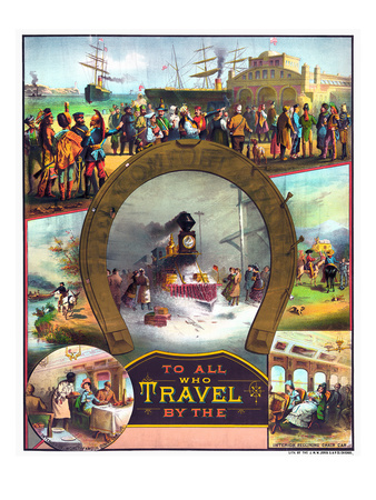 Steamship travel poster available by clicking on the image.