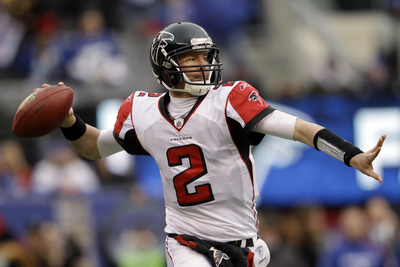 Atlanta Falcons and New York Giants: Matt Ryan