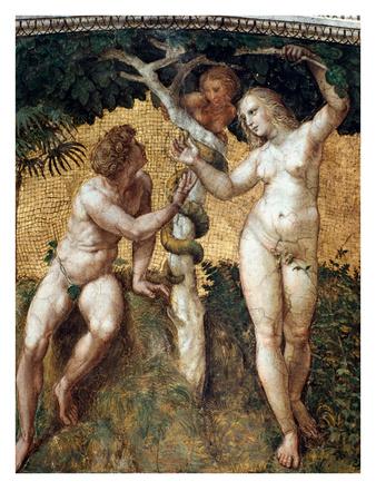 Adam & Eve, Raphael