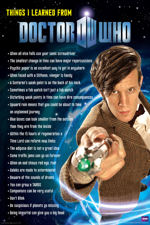 Doctor Who - Things I Learned