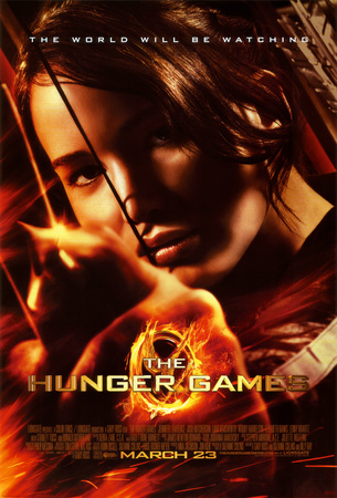 Hunger Games - Katniss Aiming Poster