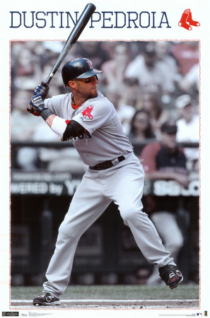 Red Sox - Dustin Pedroia 2012 Posters
