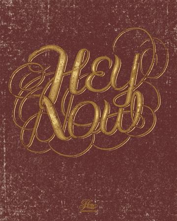 Hey Now - Serigraph