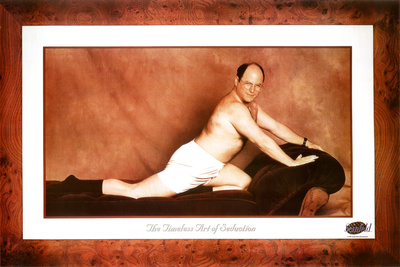 Seinfeld George The Timeless Art of Seduction TV Poster Print Television Poster