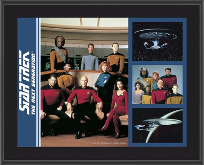 Star Trek - Group shot Art Plaque